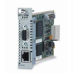 Category: Dropship Network Hardware, SKU #2400355, Title: MEDIA CONVERTER - PLUG-IN CARD - ETHERNET; FAST ETHERNET; RS-232