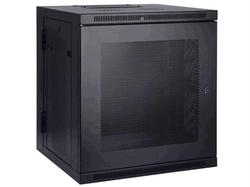 Category: Dropship Cables & Adapters, SKU #2407689, Title: 12U WALL MOUNT RACK ENCLOSURE SERVER CABINET HINGED DOORS/SIDES