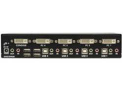 Startech 4 Port Dvi Vga Dual Monitor Kvm Switch
