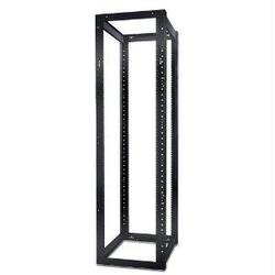 Category: Dropship Cables & Adapters, SKU #2585399, Title: AR204A - NETSHELTER 4 POST OPEN FRAME RACK - BLACK