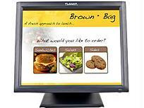 Planar 17 Inch Black Hid Compliant 5-wire Resistive Touchscreen Edge-lit Led Lcd, Usb C