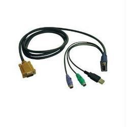 15-FT. KVM SWITCH USB/PS2 COMBO CABLE FOR B020-U08/U16 AND B022-U16 KVMS