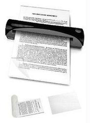 DOCUMENT SLEEVE KIT FOR SHEETFED AND ADF SCANNERS (INCLUDES 10 LETTER SIZE 8.5 X