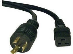6FT POWER CORD EXTENSION CABLE L6-20P TO C19  HEAVY DUTY 20A 12AWG