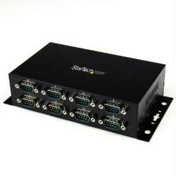 ADD 8 DIN RAIL-MOUNTABLE RS232 SERIAL PORTS TO ANY SYSTEM THROUGH USB - 8 PORT U