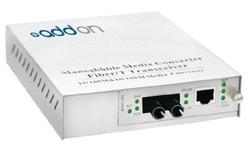 ADDON 10/100/1000BASE-TX(RJ-45) TO 1000BASE-SX(ST) MMF 850NM 550M MANAGED MEDIA