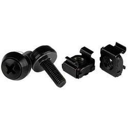 THESE HIGH-QUALITY M5 X 12MM SCREWS AND CAGE NUTS MAKE IT EASY TO MOUNT EQUIPMEN