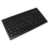 Adesso Ack-595 - Mini Keyboard With Embedded Numeric Keypad (ps/2, Black)