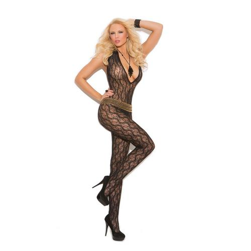 DEEP V LACE BODYSTOCKING