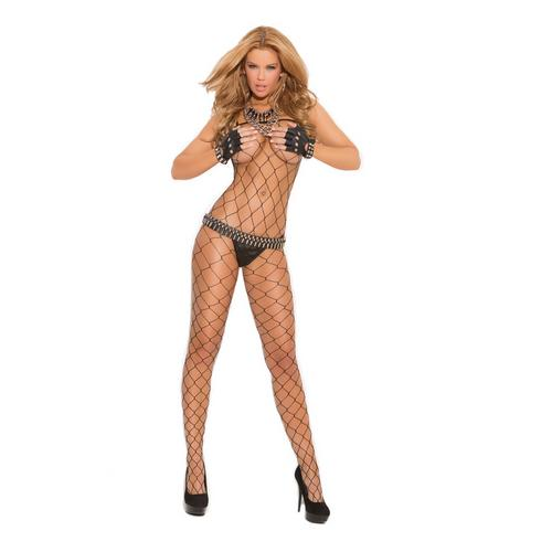 BIG DIAMOND NET BODYSTOCKING