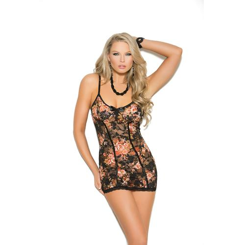 FLORAL LACE BABYDOLL