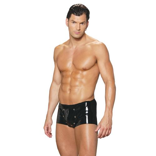 MENS VINYL SHORTS W/BREAK AWAY