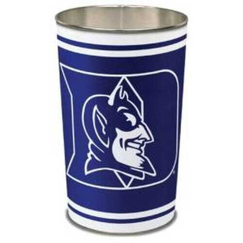 Duke Blue Devils Wastebasket 15 Inch