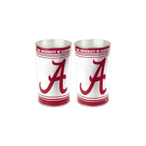Alabama Crimson Tide Wastebasket 15 Inch