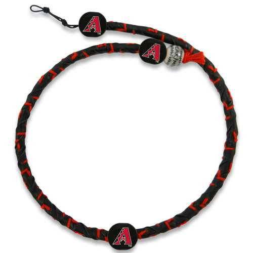 Arizona DiamondBacks Necklace Frozen Rope Team Color Baseball