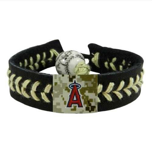 Los Angeles Angels Bracelet Team Color Baseball Camo