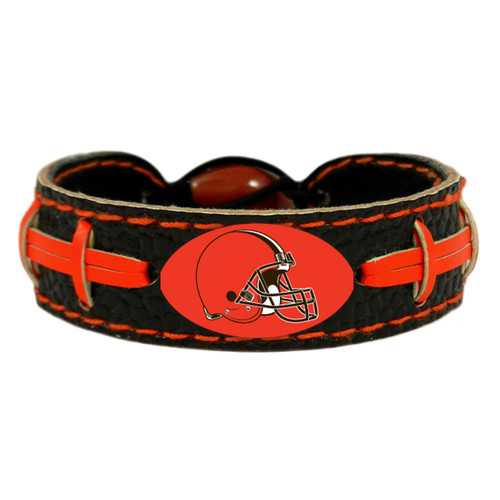 Cleveland Browns Bracelet Team Color Football