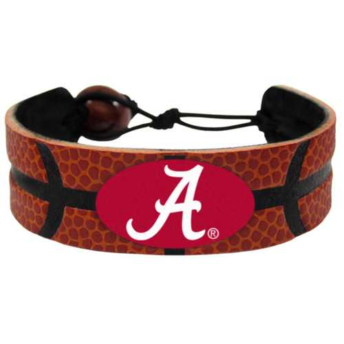 Alabama Crimson Tide Bracelet Classic Basketball A Logo