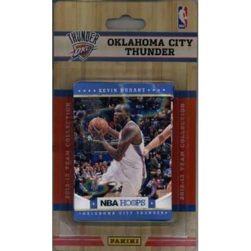 Oklahoma City Thunder 2012-2013 Hoops Team Set