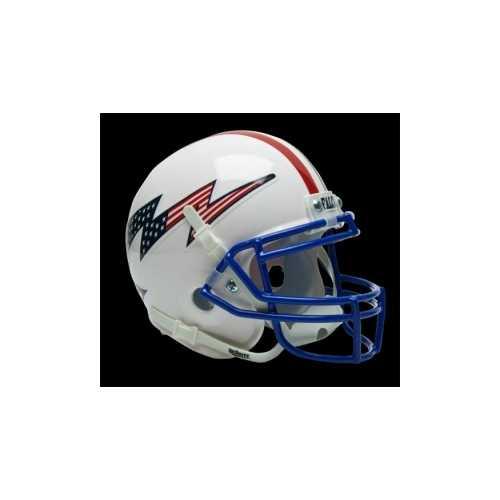 Air Force Falcons Schutt Mini Helmet - White Alternate Helmet #2 Special Order