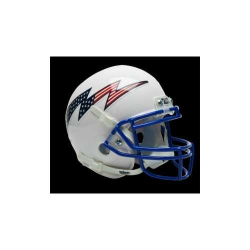 Air Force Falcons Schutt Mini Helmet - White Alternate Helmet #3 Special Order