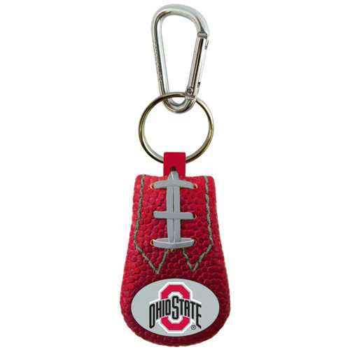 Ohio State Buckeyes Keychain Team Color Football