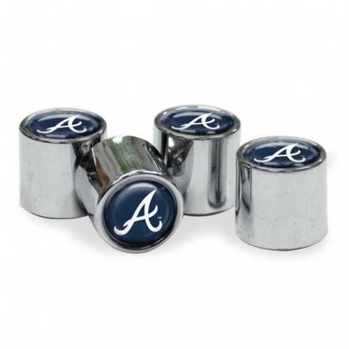 Atlanta Braves Valve Stem Caps