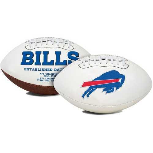 Buffalo Bills Football Full Size Embroidered Signature Series