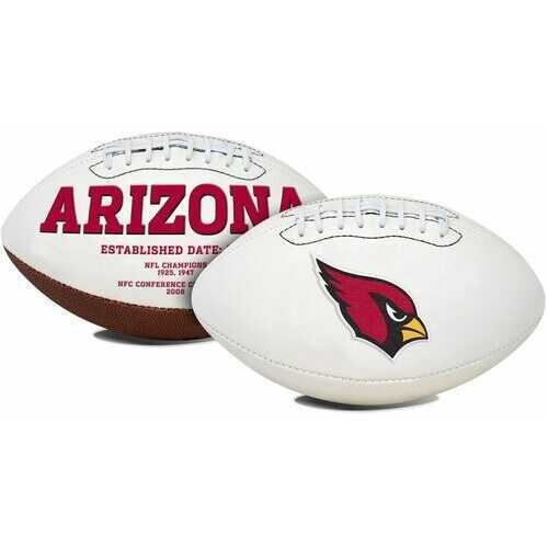Arizona Cardinals Football Full Size Embroidered Signature Series