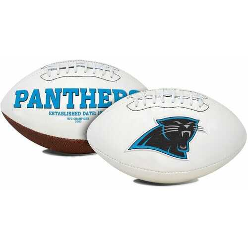 Carolina Panthers Football Full Size Embroidered Signature Series