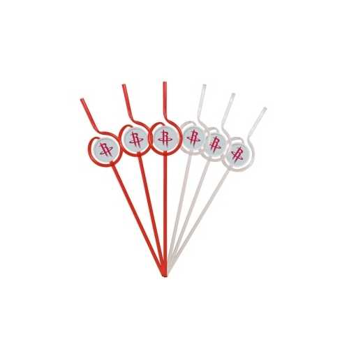 Houston Rockets Team Sipper Straws