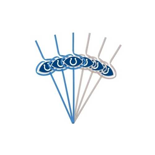 Indianapolis Colts Team Sipper Straws