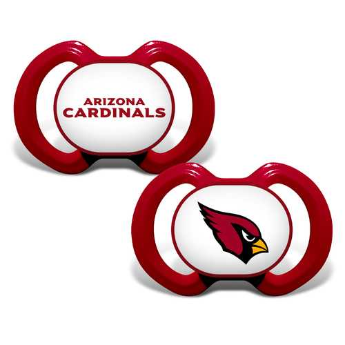 Arizona Cardinals Pacifier 2 Pack Special Order