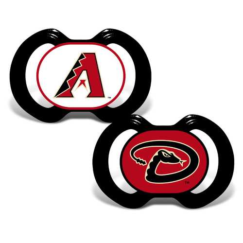 Arizona Diamondbacks Pacifier 2 Pack Special Order