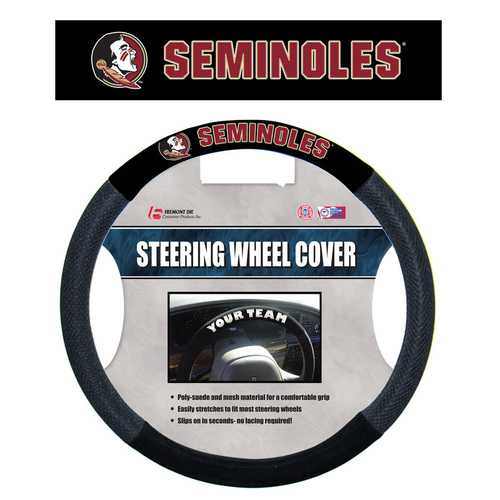 Florida State Seminoles Steering Wheel Cover Mesh Style
