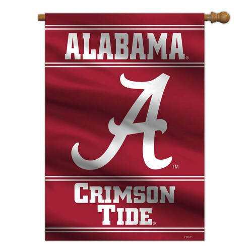 Alabama Crimson Tide Banner 28x40 House Flag Style 2 Sided