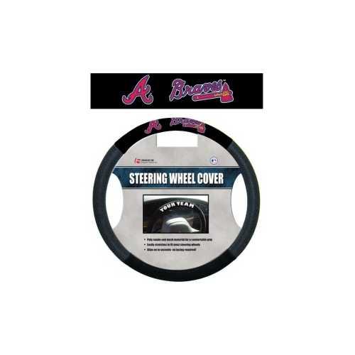 Atlanta Braves Steering Wheel Cover - Mesh