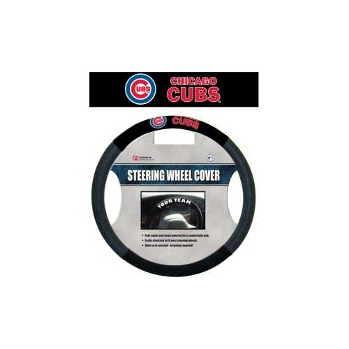 Chicago Cubs Steering Wheel Cover - Mesh