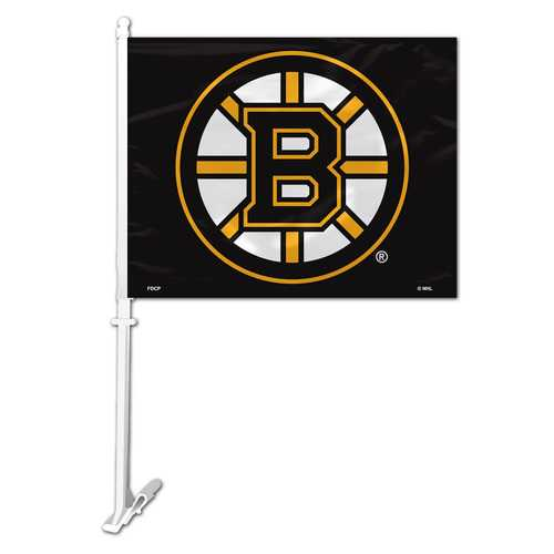 Boston Bruins Flag Car Style Special Order