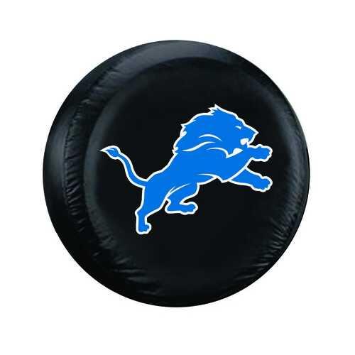 Detroit Lions Tire Cover Large Size Black