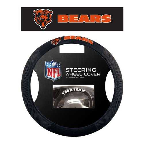 Chicago Bears Steering Wheel Cover - Mesh