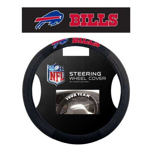Buffalo Bills Steering Wheel Cover - Mesh