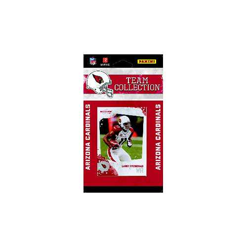 Arizona Cardinals 2010 Score Team Set
