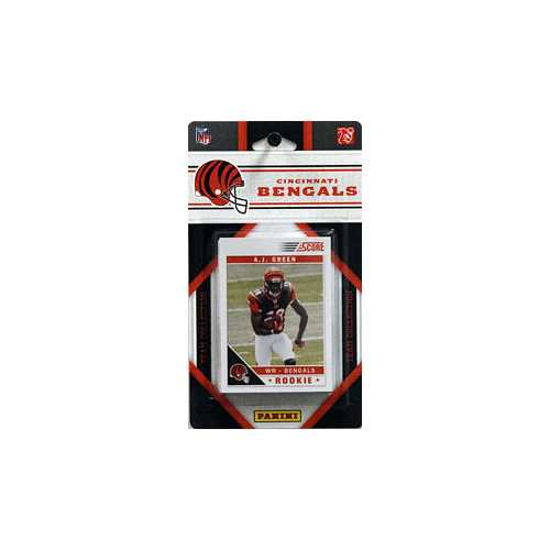 Cincinnati Bengals 2011 Score Team Set