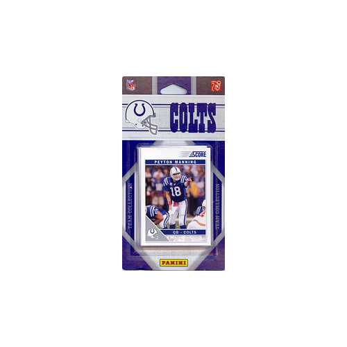 Indianapolis Colts 2011 Score Team Set