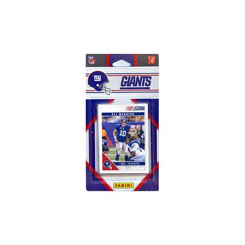 New York Giants 2011 Score Team Set