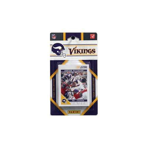 Minnesota Vikings 2011 Score Team Set