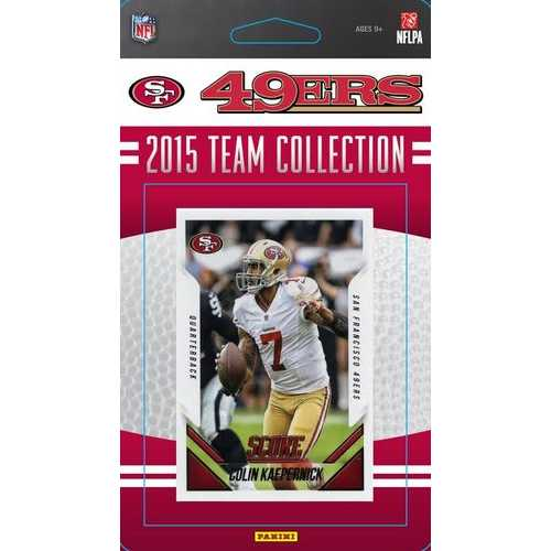 San Francisco 49ers 2015 Score Team Set