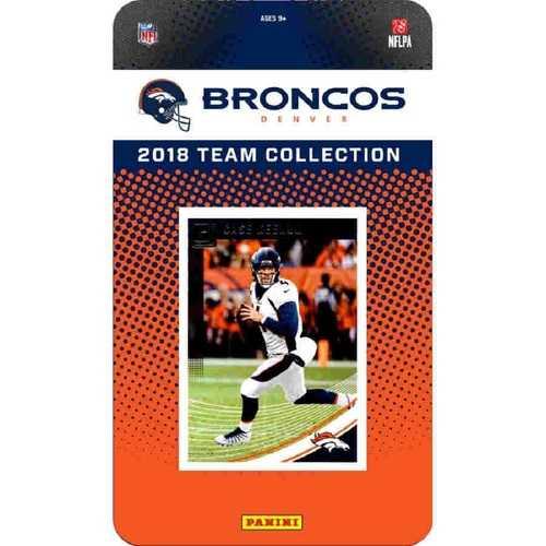 Denver Broncos NFL Team Set 2018 Donruss