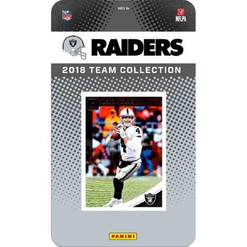 Oakland Raiders NFL Team Set 2018 Donruss